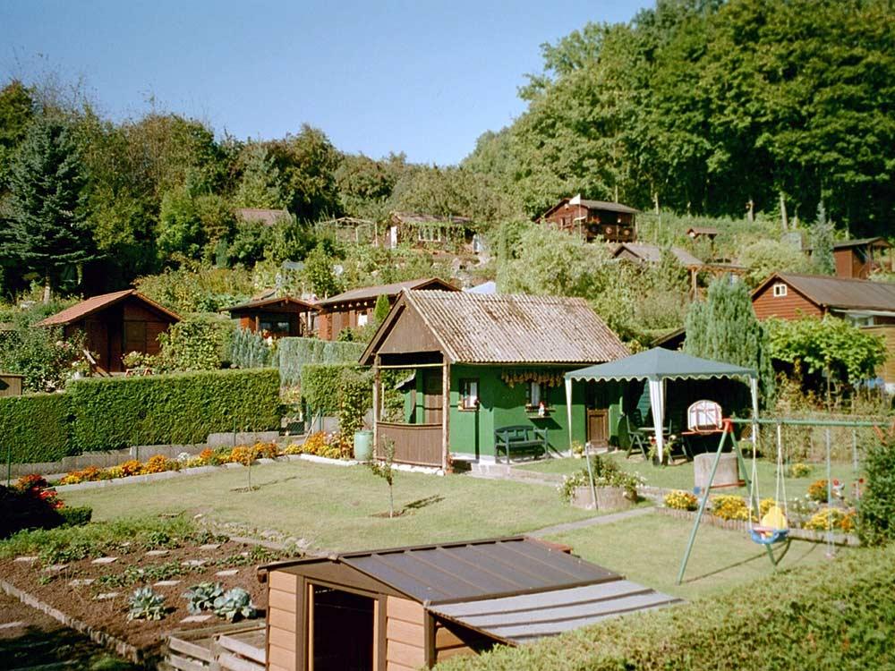 Kleingartenanlage Coburg Hut-Lauersgraben